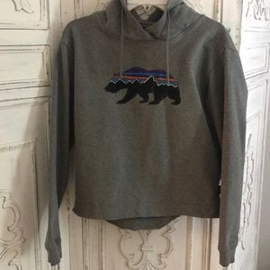 Patagonia Fitz Roy bear hoodie size Small